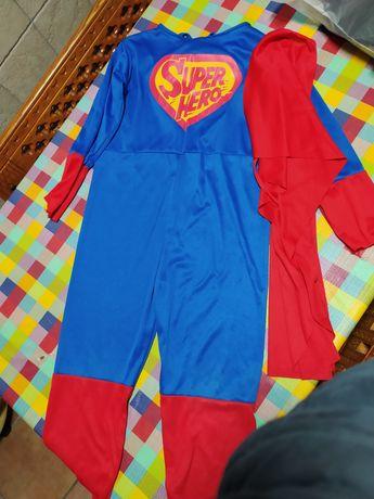 Fato carnaval super herói 9 anos