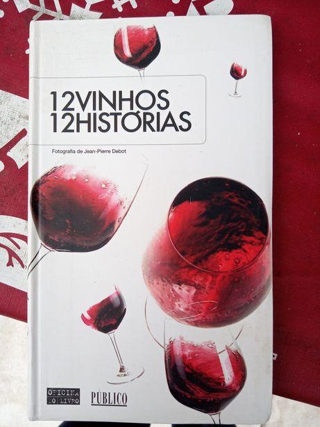 Livro 12 vinhos 12 histórias
