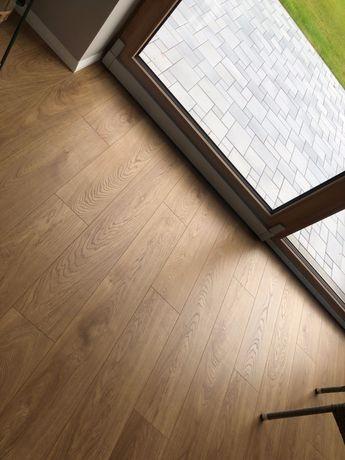 Panele podłogowe 54m2 _ Dąb Lark _ Swiss Krono _ AC5 _ Aqua Pearl