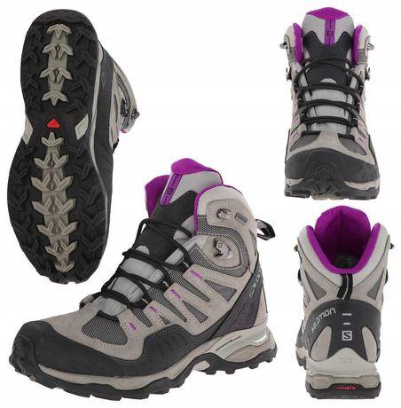 Buty damskie Salomon Conquest GTX górskie , trekkingowe 38