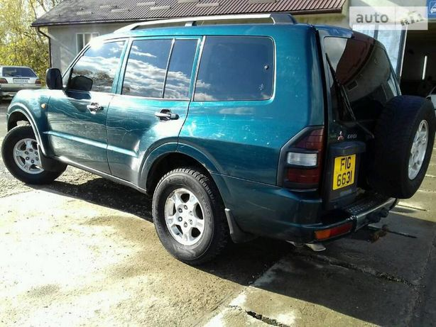 Mitsubishi Pajero wagon 3 розборка міцубісі паджеро вагон 3