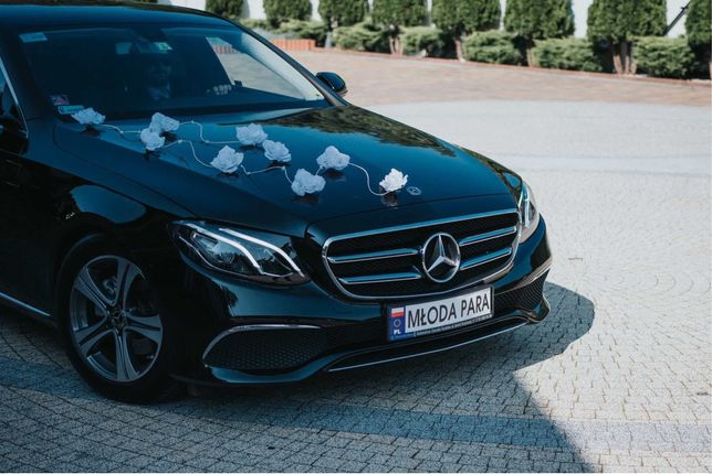 Auto do Ślubu Mercedes E 2019 Avantgarde / Wolne terminy 2021