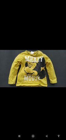 Disney bajkowa bluzka Myszka Mickey 86cm vint