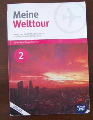 Meine Welttour. Język niemiecki 2. Podręcznik. Szkoła ponadgimnaz