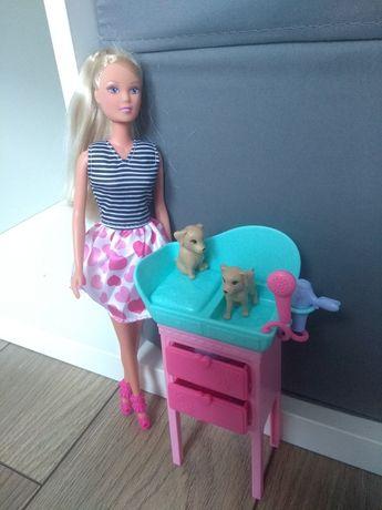 Sprzedam lalkę Barbie - salon piękności dla psów