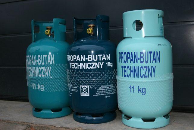 Butla gazowa propan-butan 11kg jak nowa Bydgoszcz, Zamość k/Rynarzewa