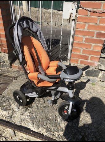 Продам детский велосипед Crosser с ручкой-коляской
