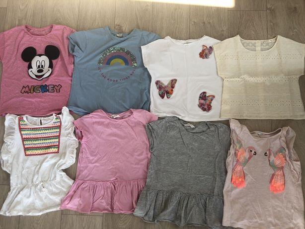 Zestaw koszulek Zara i HM