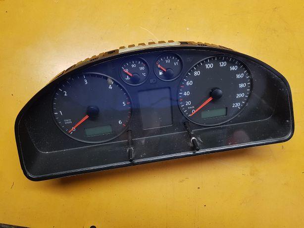 LICZNIK ZEGAR ZEGARY prędkościomierz VW T5 2.5TDI 7H0.920.851E wysyłk