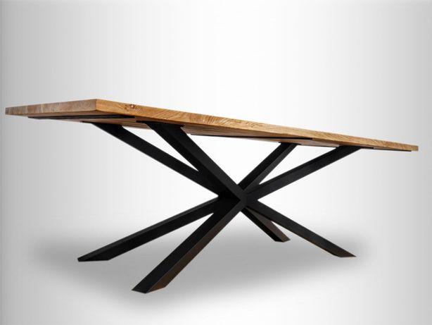 elegancki nowoczesny loft stół stolik do salonu kuchni