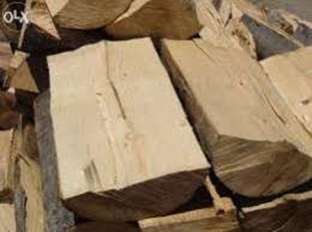 drewno sezonowane liściaste kominkowe.