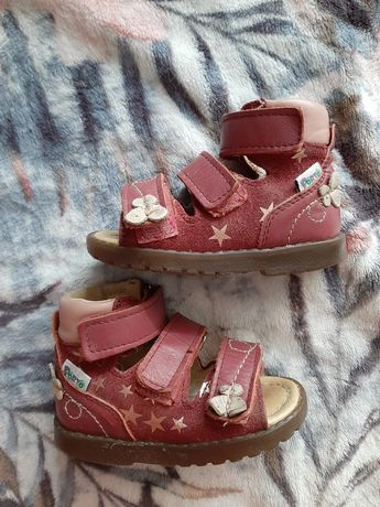 Mrugała Porto pantofle buty sandały profilaktyczne 19 skóra naturalna