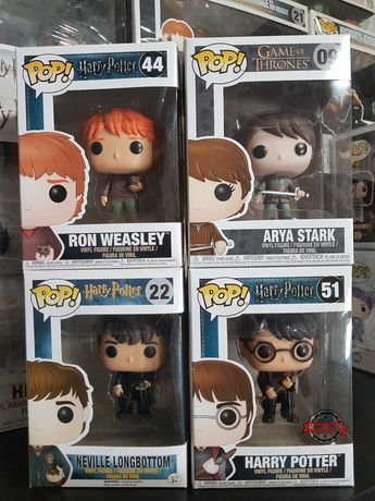 Funko Pop Harry Potter e GoT