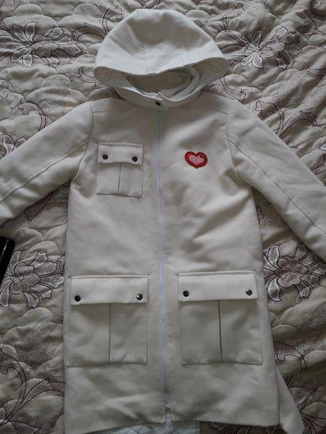 Пальто для девочки подростка