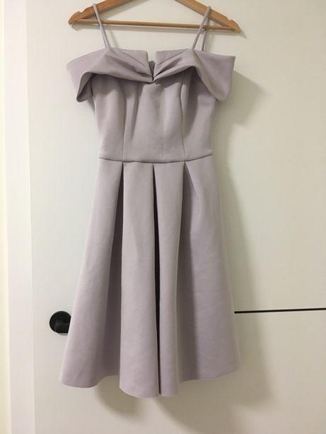 Sukienka Pastelowa/Fioletowa w rozm. XS