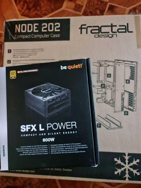 Fractal Design Node 202 [SFXL Bequiet! 600W]