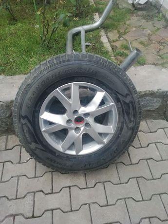 Продается колеса с титановыми дисками