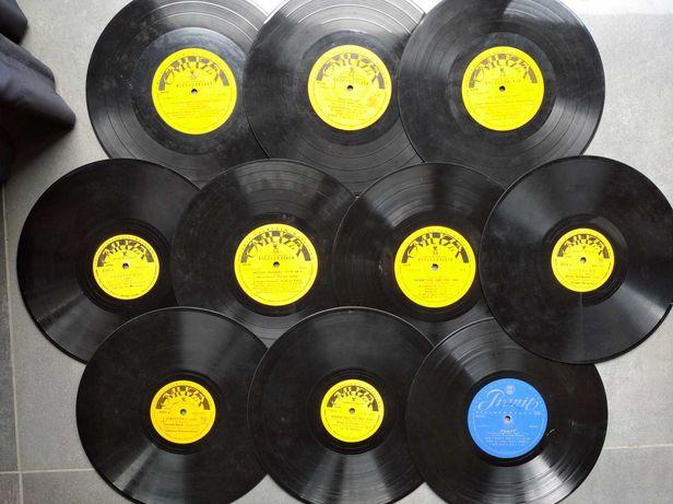 Stare płyty winylowe – zestaw 21 sztuk w 3 albumach