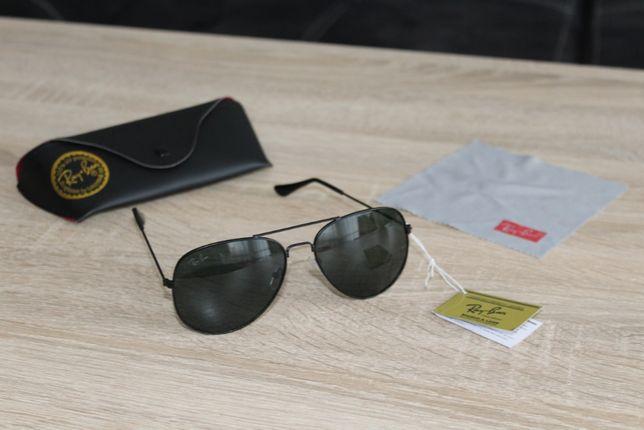 Ray Ban Aviator piękne okulary z pokrowcem MODEL EKSKLUZYWNY