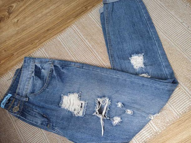 Spodnie Modoo mom jeans Xs