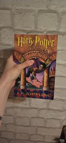 Harry potter i kamień filozoficzny pierwsze wydanie nie poprawione