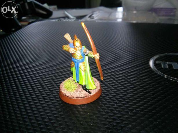figurki władca pierścienia kolekcja LOTR gra bitewna makieta