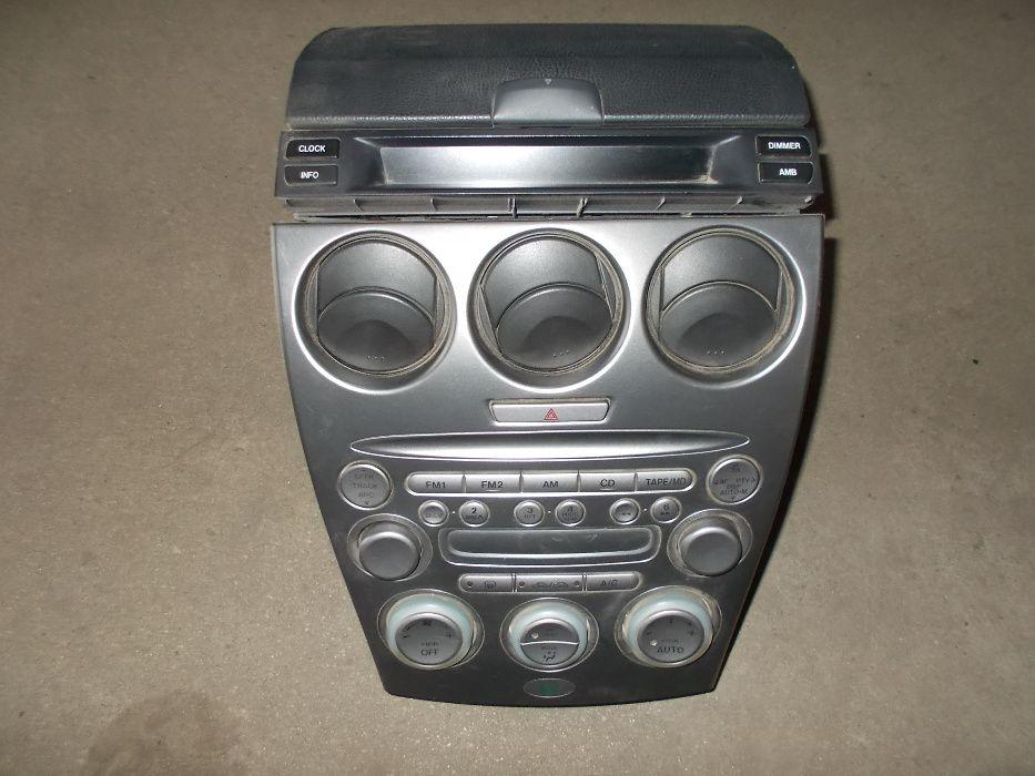panel nawiewu radio wyświetlacz MAZDA 6