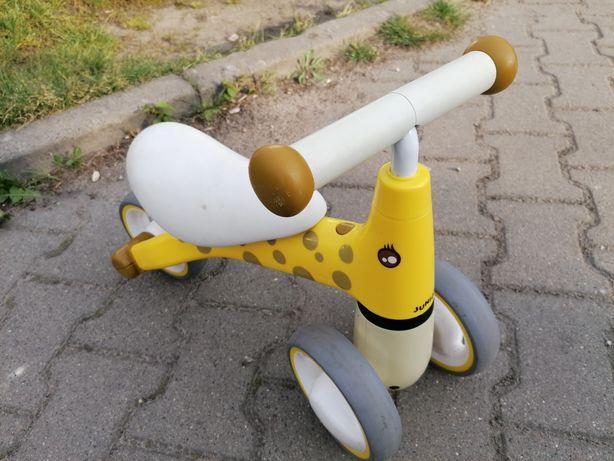 Jeździk mini rowerek biegowy chodzik żyrafa