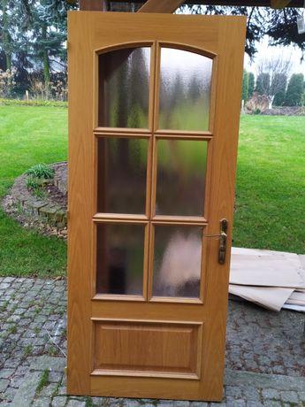 Drzwi dębowe wewnętrzne