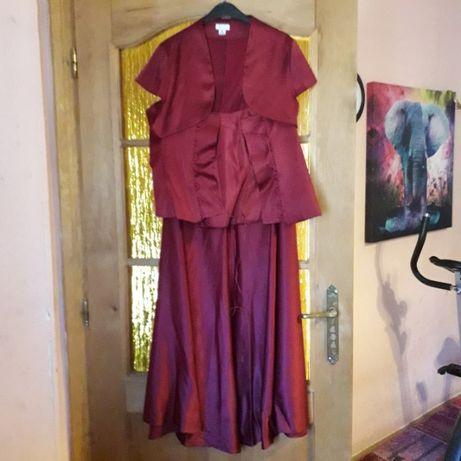 strój wieczorowy,weselny,karnawałowy, inne uroczystości roz.46 damski