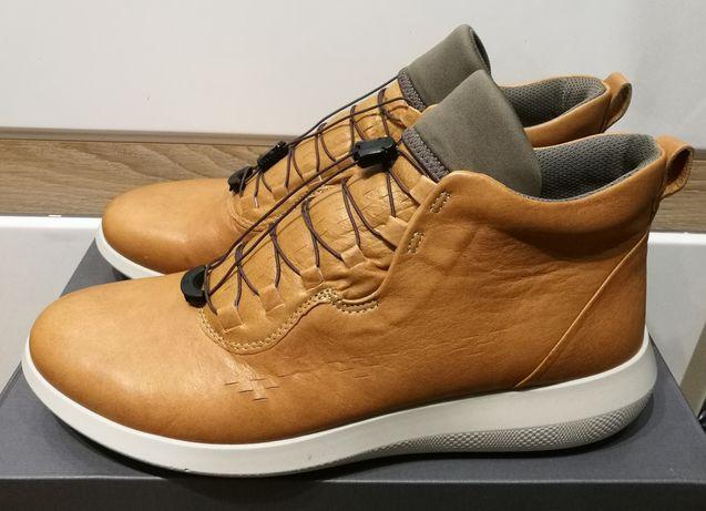 PROMOCJA!!! Brązowe skórzane buty Ecco Scinapse rozm. 44