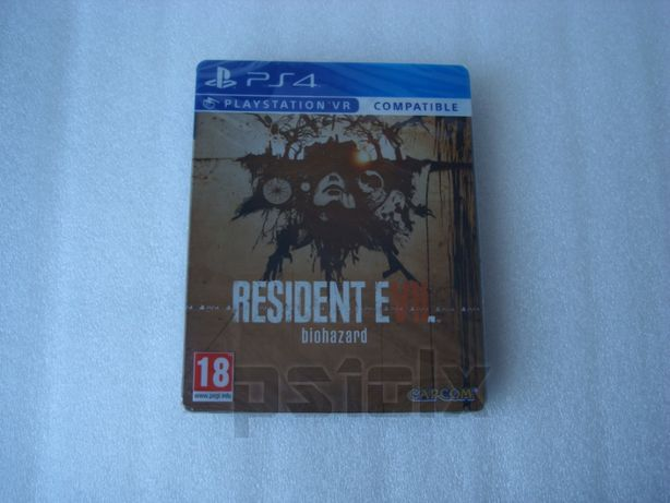 resident evil VII 7 biohazard steelbook edition playstation ps4 Novo