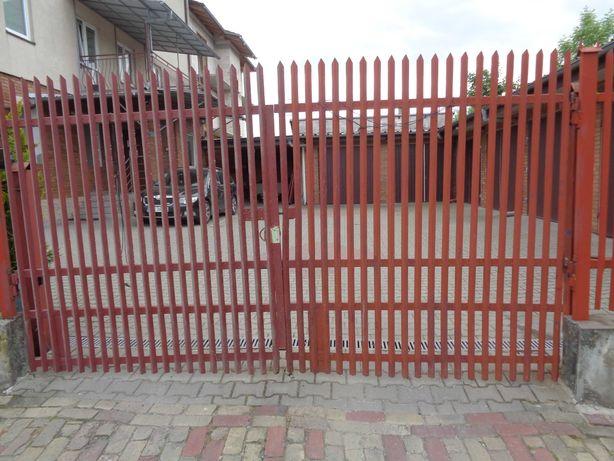 Brama otwierana 370 szer 195 wysoka
