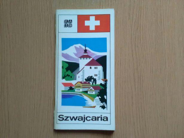 Broszura turystyczna - Szwajcaria, 1976r.