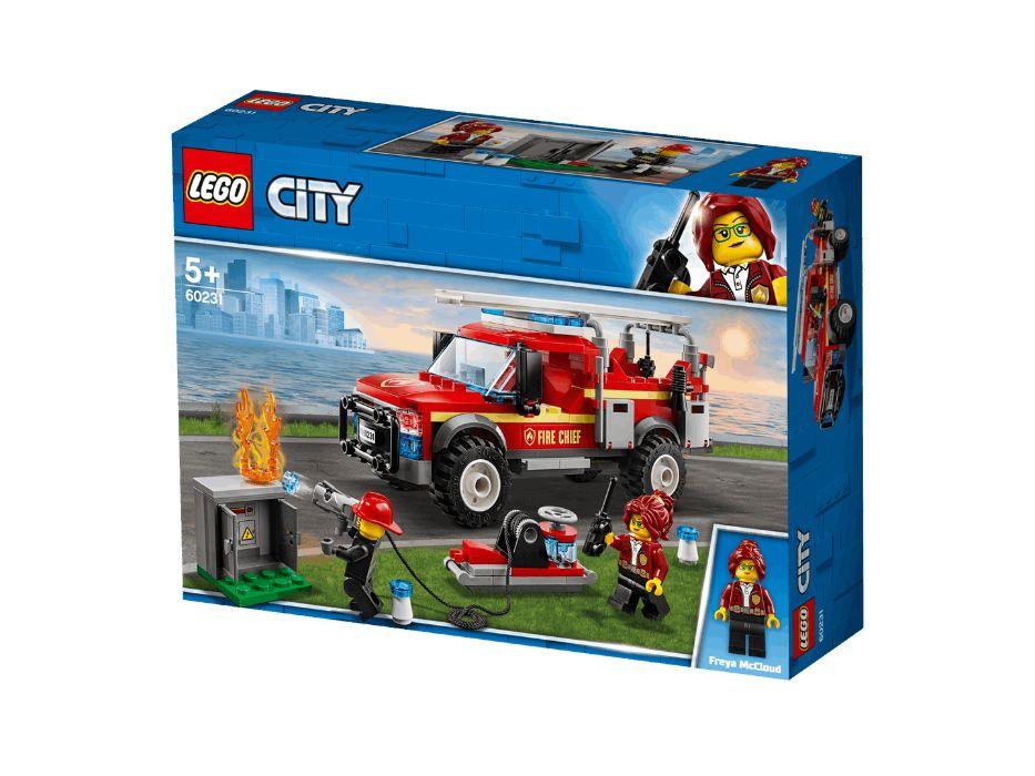 Klock LEGO City Terenówka komendantki straży 60231 Strzelce Wielkie - image 1