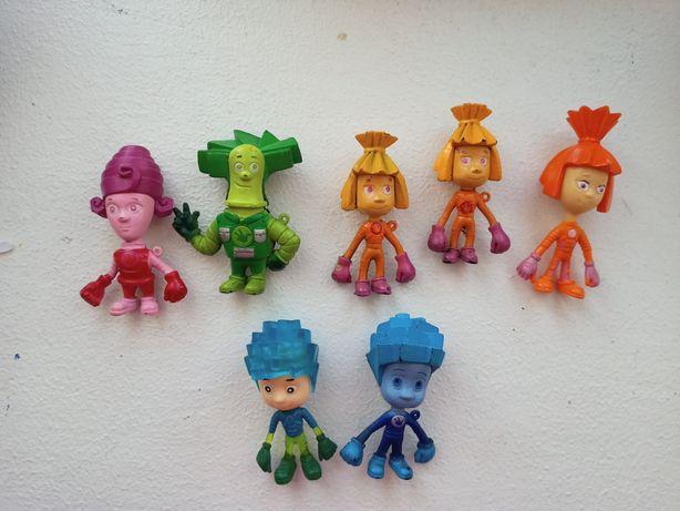 Фиксики, игрушки героев