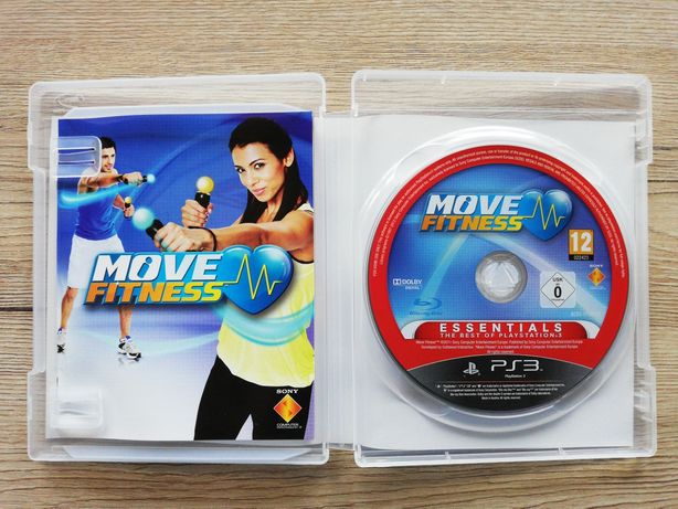 Gra Move Fitness PlayStation 3 Ps3 3xPL