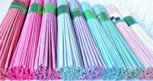 Бумажная лоза, газетные трубочки - для плетения.