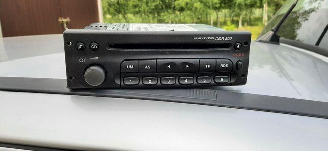 Radio fabryczne Opel Astra g. Kodowane