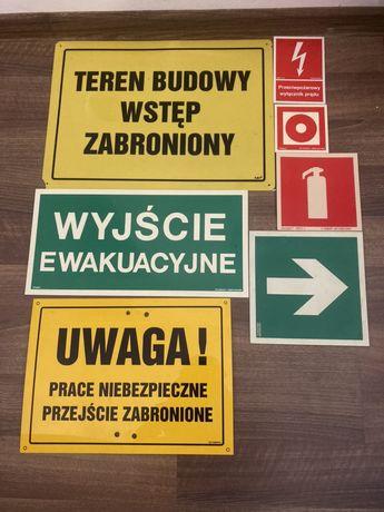 Tablice BHP tablice informacyjne tablice ostrzegawcze