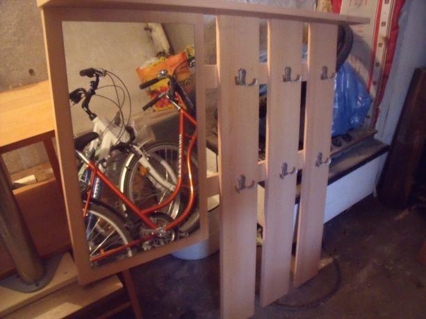 meble do małego przedpokoju-szafka na buty z szufladą ,półką i wieszak