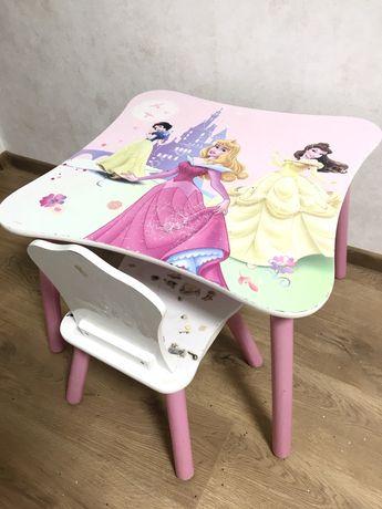 Детский стол и стульчик для девочки Delta Disney