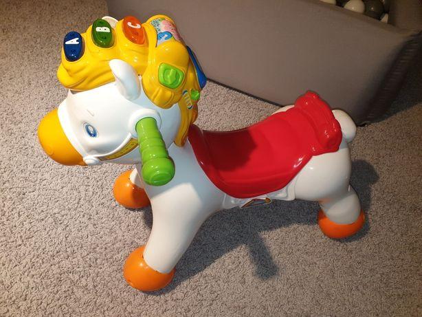 Clementoni koń na biegunach