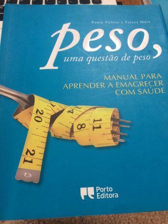 """Livro """"Peso, uma questão de peso"""""""