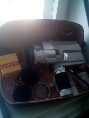 Японская пленочная кинокамера Minolta Auto Zoom 8 70-х годов