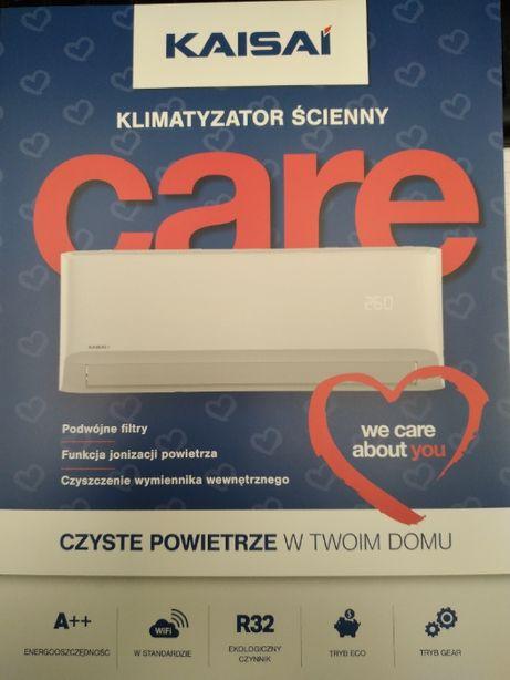 Klimatyzator split Kaisai Care 3,5 kW z WiFi MOŻLIWY MONTAŻ