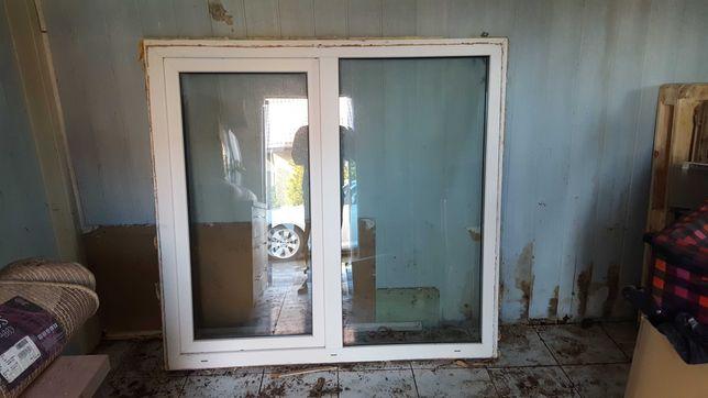 Okno PCV Białe 175x174 z Demontarzu