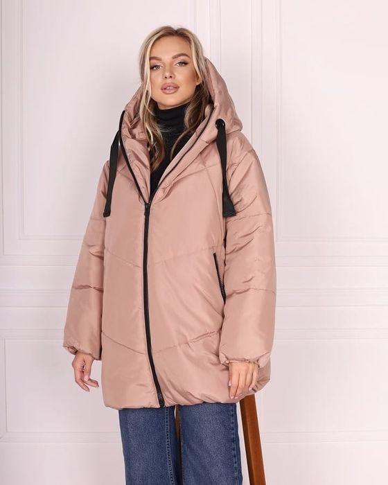 Куртка зимняя на силиконе. Пуховик Одесса - изображение 1