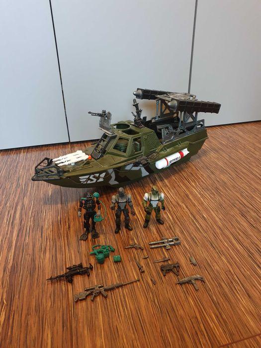 Zestaw żołnierze True Heroes Sentinel1 duża łódź motorowa. Wrocław - image 1