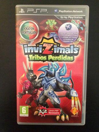 "InviZimals ""Tribos Perdidas"" PSP"